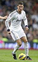 Real Madrid's Cristiano Ronaldo during La Liga Match. December 01, 2012. (ALTERPHOTOS/Alvaro Hernandez)