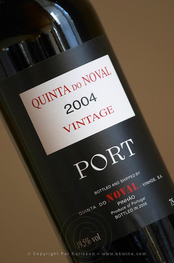 vintage 2004 quinta do noval douro portugal