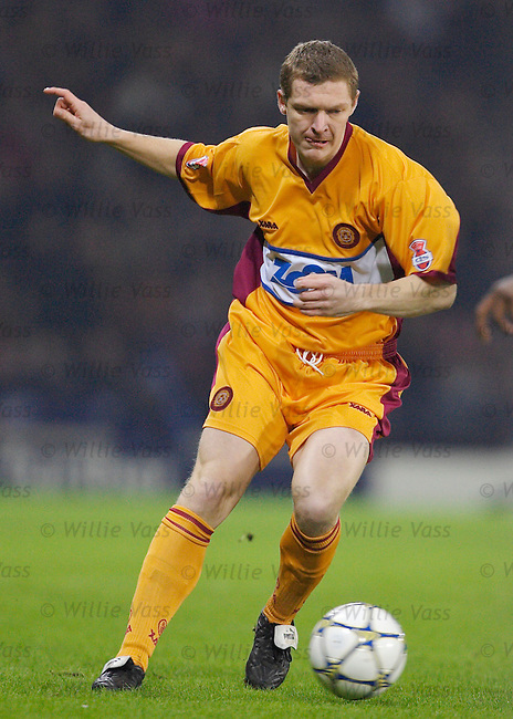Martyn Corrigan, Motherwell.stock season 2005-2006.pic willie vass