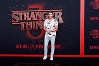 "LOS ANGELES - JUN 28:  Jonathan Bennett at the ""Stranger Things"" Season 3 World Premiere at the Santa Monica High School on June 28, 2019 in Santa Monica, CA"
