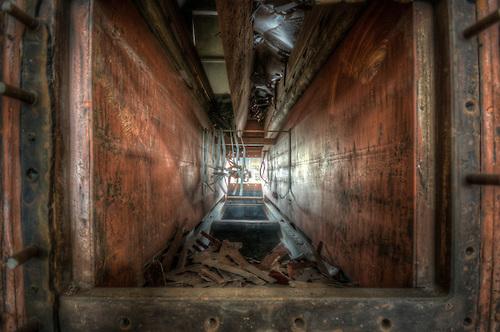 Abandoned power station