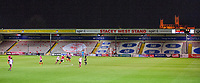 A general view of Sincil Bank, home of Lincoln City FC during the game<br /> <br /> Photographer Chris Vaughan/CameraSport<br /> <br /> The FA Youth Cup Second Round - Lincoln City U18 v South Shields U18 - Tuesday 13th November 2018 - Sincil Bank - Lincoln<br />  <br /> World Copyright © 2018 CameraSport. All rights reserved. 43 Linden Ave. Countesthorpe. Leicester. England. LE8 5PG - Tel: +44 (0) 116 277 4147 - admin@camerasport.com - www.camerasport.com