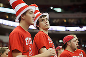 Pack Backers - NC State University vs Princeton at the RBC Center, Raleigh, NC, Wednesday, November 16, 2011. .