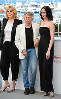 Emmanuelle Seigner, Roman Polanski &amp; Eva Green at the photocall for &quot;Based on a True Story&quot; at the 70th Festival de Cannes, Cannes, France. 27 May 2017<br /> Picture: Paul Smith/Featureflash/SilverHub 0208 004 5359 sales@silverhubmedia.com