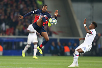 Victor Osimhen of Lille OSC and Callum Hudson-Odoi of Chelsea during Lille OSC vs Chelsea, UEFA Champions League Football at Stade Pierre-Mauroy on 2nd October 2019