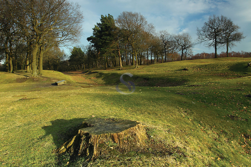 The Antonine Wall at Rough Castle Roman Fort, Falkirk<br /> <br /> Copyright www.scottishhorizons.co.uk/Keith Fergus 2011 All Rights Reserved