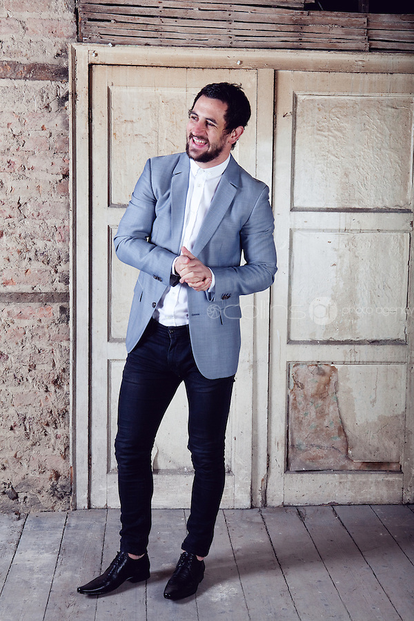Fashion feature with Kerry GAA footballer Paul Galvin for the Irish Independent newspaper.<br /> Picture James Horan/Collins Photos