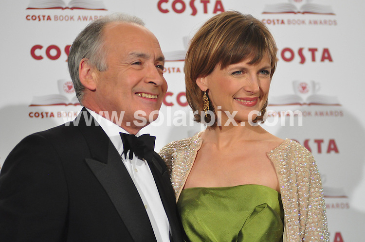 **ALL ROUND PICTURES FROM SOLARPIX.COM**.**WORLDWIDE SYNDICATION RIGHTS**.arrivals for the Costa Book Awards 2009 at the Intercontinental Hotel in London, UK. Tuesday January 27, 2009...This pic: Katie Derham and Alastair Stewart..JOB REF: 8339 FMF     DATE: 27_01_2009.**MUST CREDIT SOLARPIX.COM OR DOUBLE FEE WILL BE CHARGED* *ONLINE USAGE FEE £50.00 PER PICTURE - NOTIFICATION OF USAGE TO PHOTO@SOLARPIX.COM*