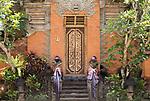Tempelwaechter, Pura Saren Agung, Fuerstenpalast, Ubud, Bali