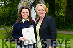 Pictured at the Presentation Secondary school, Tralee, graduation on Friday were Arita Krasniqi and Suzanne Krasniqi