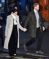 JAN 09 Prince Harry and Meghan Markle visit Reprezent 107.3FM