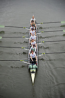 Putney, London,  Tideway Week, Championship Course. River Thames, CUWBC.  Bow: Ashton Brown &ndash; CAN/AUS. 2: Imogen Grant, 3: Claire Lambe &ndash; IRL. 4: Anna Dawson, 5: Holly Hill, 6: Alice White, 7: Myriam Goudet &ndash; FRA, Stroke: Melissa Wilson, Cox: Matthew Holland &ndash;<br /> Wednesday  29/03/2017<br /> [Mandatory Credit; Credit: KARON PHILLIPS/Intersport Images.com ]