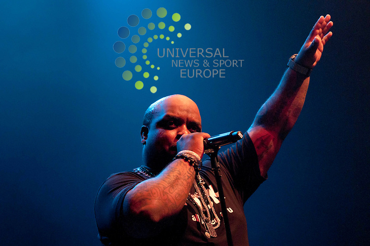Cee Lo Green, American Rap Star and Producer Performs Live at the O2 Academy, Glasgow 2011.Picture:Universal News And Sport (Europe).24 March 2011....