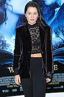 "NEW YORK, NY - FEBRUARY 11: Arabella Oz at the World Premiere Of Warner Bros. Pictures' ""Winter's Tale"" held at Ziegfeld Theatre on February 11, 2014 in New York City. (Photo by Jeffery Duran/Celebrity Monitor)"