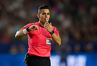 Carson, CA - Saturday July 29, 2017: Armnado Villarreal during a Major League Soccer (MLS) game between the Los Angeles Galaxy and the Seattle Sounders FC at StubHub Center.