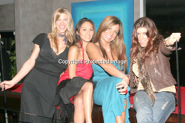 Linda Overheu, Sheena Mariano, Bridgetta Tomarchio &amp; Corinne Saffell<br />The Winter LA Celebrity Charity Event to honor Sound Art and Black Sheep<br />Private Residence<br />West Hollywood, CA, USA<br />Sunday, December 05th, 2004<br />Photo By Celebrityvibe.com/Photovibe.com, <br />New York, USA, Phone 212 410 5354, <br />email: sales@celebrityvibe.com