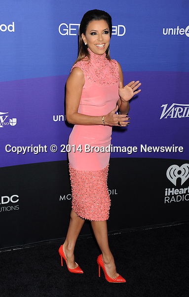 Pictured: Eva Longoria<br /> Mandatory Credit &copy; Gilbert Flores/Broadimage<br /> Unite4:Humanity Event<br /> <br /> 2/27/14, Culver City, California, United States of America<br /> <br /> Broadimage Newswire<br /> Los Angeles 1+  (310) 301-1027<br /> New York      1+  (646) 827-9134<br /> sales@broadimage.com<br /> http://www.broadimage.com