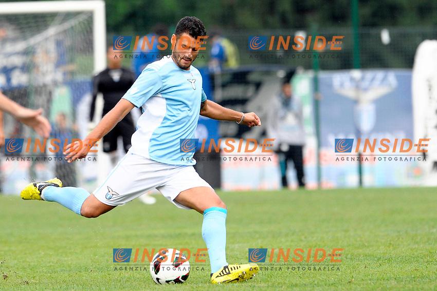 Antonio Candreva Lazio.Auronzo di Cadore 21/7/2012.Football Calcio 2012 / 2013 .Amichevole Friendly Match.SS Lazio Vs AC Montebelluna.Foto Insidefoto.