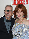 Sam Rudy and Molly Ringwald attends the Broadway Opening Night Performance of  'Indecent' at The Cort Theatre on April 18, 2017 in New York City.