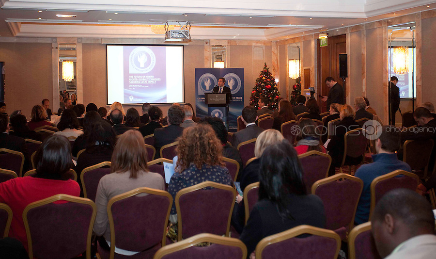 """*** NO FEE PIC***.16/12/2011.General Scenes.during the """"The Future of Human Rights Global Techniques Securing Local Impact"""" international seminar at The Westbury Hotel, Dublin..Photo: Gareth Chaney Collins"""