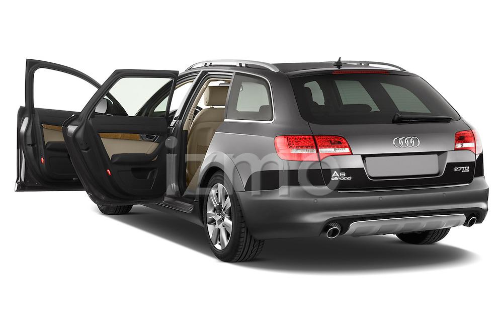 Rear three quarter door view of a 2006 - 2011 Audi A6 ALLROAD QUATTRO Avus 5-Door Wagon 4WD