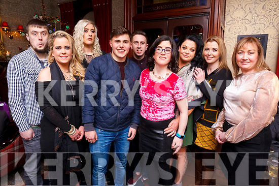 Gala Mounthawk  out for their Xmas party in the Grand Hotel on Saturday evening. L-R Patrick O'Driscoll, Mandy McGuire, Katie O'Sullivan, DJ Hannifan, Jack Ferguson, Mary Jo Bailey, Sandy Wing, Marie Cantleion and Mary Lynch.