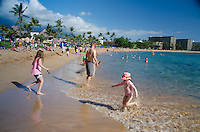 Kaanapali Beach near Black Rock, Maui, Hawaii, US