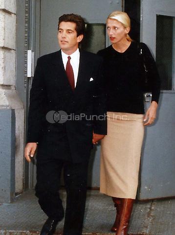 John Kennedy &amp; wife Carolyn Bessette 1996<br /> Photo By John Barrett-PHOTOlink.net / MediaPunch