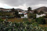 Betancuria a small historic village in Fuerteventura, Canary Islands.