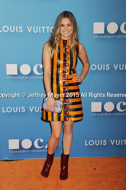 LOS ANGELES, CA - MAY 30: Actress Nathalie Love  arrives at the 2015 MOCA Gala presented by Louis Vuitton at The Geffen Contemporary at MOCA on May 30, 2015 in Los Angeles, California.