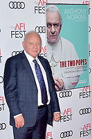 Anthony Hopkins beim Gala Screening des Kinofilms 'The Two Popes / Die zwei Päpste' auf dem AFI Fest 2019 im TCL Chinese Theatre. Los Angeles, 18.11.2019