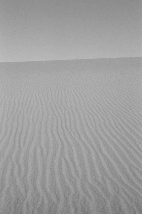 Death Valley 2018, Mesquite Flat Sand Dune, 35mm Film
