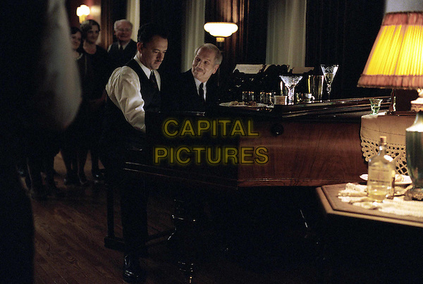 TOM HANKS & PAUL NEWMAN.in Road To Perdition.Filmstill - Editorial Use Only.CAP/AWFF.supplied by Capital Pictures
