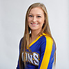 Taylor Penny of West Islip poses for a portrait during Newsday's All-Long Island cheerleading photo shoot at company headquarters in Melville on Friday, March 23, 2018.