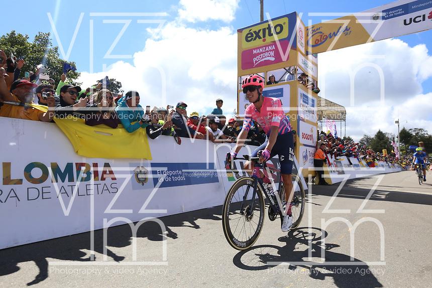 EL VERJON - COLOMBIA, 16-02-2020: Rigoberto Uran (COL), UAE TEAM EMIRATES, durante la sexta etapa del Tour Colombia 2.1 2020 con un recorrido de 182,6 km que se corrió entre Zipaquirá y El Once Verjón, Cundinamarca. / Rigoberto Uran (COL), UAE TEAM EMIRATES, during the sixth stage of 182,6 km as part of Tour Colombia 2.1 2020 that ran between Zipaquira and El Once Verjon, Cundinamarca.  Photo: VizzorImage / Darlin Bejarano / Cont