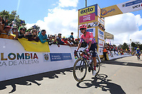 EL VERJON - COLOMBIA, 16-02-2020: Rigoberto Uran (COL), UAE TEAM EMIRATES, durante la sexta etapa del Tour Colombia 2.1 2020 con un recorrido de 182,6 km que se corrió entre Zipaquirá y El Once Verjón, Cundinamarca. / Rigoberto Uran (COL), UAE TEAM EMIRATES, during the sixth stage of 182,6 km as part of Tour Colombia 2.1 2020 that ran between Zipaquira and El Once Verjon, Cundinamarca.  Photo: VizzorImage / Darlin Bejarano / Cont