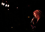 Melissa Manchester performing on stage at 'Tis The Season Jamie deRoy & Friends Holiday Show' at the Birdland on December 11, 2017 in New York City.