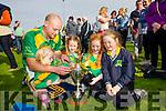 Kelly, Micheál, Aoibhe, Clodagh and Caoimhe Regan, enjoying the County Senior Hurling final held in Abbeydorney on Sunday last.