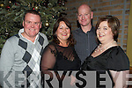 Pictured in Scotts Bar, Killarney, for the New Year's Eve party were Sean McDermott, Diane McDermott, Paul and Gretta Hickey..