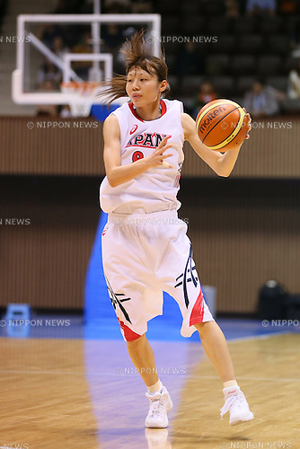 Michiko Miyamoto (JPN), <br /> JUNE 30, 2013 - Basketball : <br /> International Basketball Japan Games 2013 <br /> between Japan Women's 78-61 Mozambique Women's <br /> at 2nd Yoyogi Gymnasium, Tokyo, Japan. <br /> (Photo by YUTAKA/AFLO SPORT)