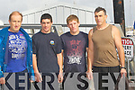 WINNERS: The maheres team who won the mens Regatta in Fenit on Sunday l-r: Declan, Christopher and PJ and Tommy Griffin.