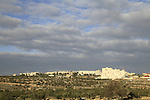 Israel, Jerusalem, a view of Gilo neighbourhood