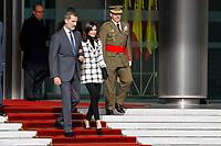 NOV 11 Spanish Royals Depart to Cuba