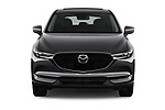 Car photography straight front view of a 2018 Mazda CX-5 Grand-Touring 5 Door SUV Front View