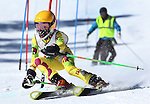 LEAD, SD - JANUARY 31, 2016 -- Eliza Bentler works through the slalom in the U14 category during the 2016 USSA Northern Division Ski Races at Terry Peak Ski Area near Lead, S.D. Sunday. (Photo by Richard Carlson/dakotapress.org)