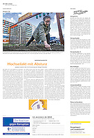 Die Wochenzeitung WOZ (Swiss weekly) on crisis-related civil activity in Hungary, part 3: Communal gardening, 2013.04.18. Photo: Martin Fejer