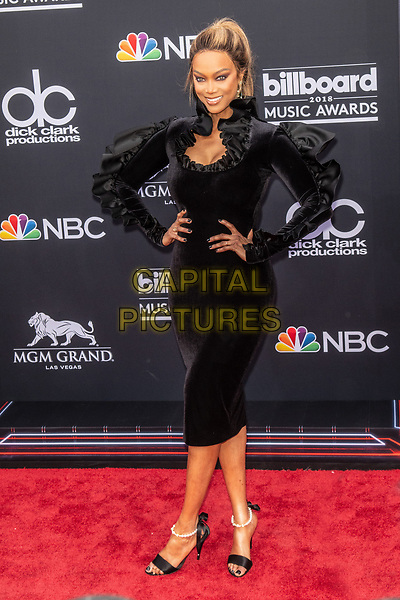 LAS VEGAS, NV - MAY 20: Tyra Banks at the 2018 Billboard Music Awards at the MGM Grand Garden Arena in Las Vegas, Nevada on May 20, 2018. <br /> CAP/MPI/DAM<br /> &copy;DAM/MPI/Capital Pictures