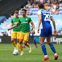 Preston North End's Callum Robinson in action<br /> <br /> Photographer David Shipman/CameraSport<br /> <br /> The EFL Sky Bet Championship - Wigan Athletic v Preston North End - Monday 22nd April 2019 - DW Stadium - Wigan<br /> <br /> World Copyright © 2019 CameraSport. All rights reserved. 43 Linden Ave. Countesthorpe. Leicester. England. LE8 5PG - Tel: +44 (0) 116 277 4147 - admin@camerasport.com - www.camerasport.com