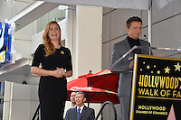 Amy Adams &amp; Jeremy Renner at Hollywood Walk of Fame Star Ceremony honoring actress Amy Adams.<br /> Los Angeles, USA 11th January  2017<br /> Picture: Paul Smith/Featureflash/SilverHub 0208 004 5359 sales@silverhubmedia.com