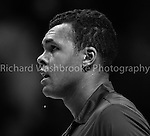 Jo-Wilfried Tsonga (FRA) lost to Andy Murray (GBR)  6:2  7:6..Barclays ATP World Tour Finals 2012 9th November 2012..Images by Richard Washbroke